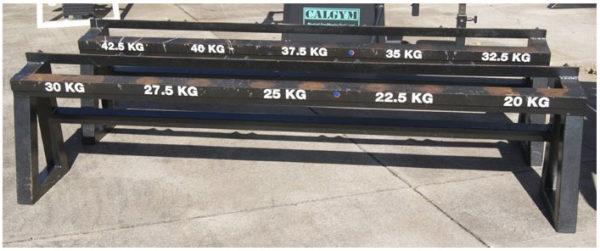 Dumbell Racks No Weights 1