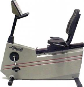 Life Fitness 9500 – Classic Recumbent Bike 1