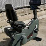 Life Fitness 9500HR Recumbent Bike
