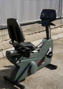 Life Fitness 9500HR Recumbent Bike 1